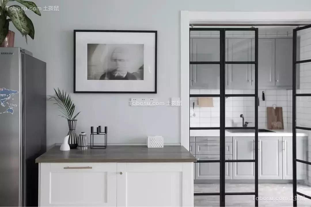 2019北欧厨房装修图 2019北欧推拉门装修设计