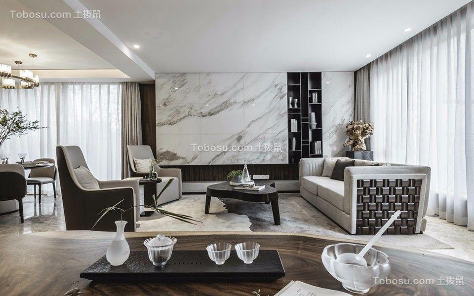 80平方全包两居室现代简约风格装修效果图