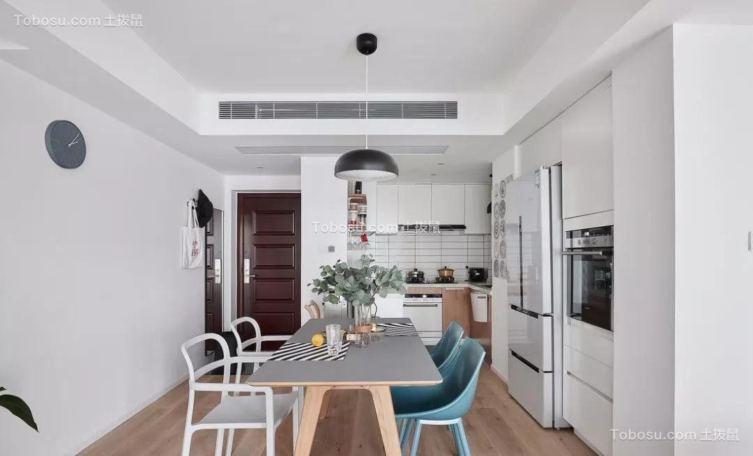 90平现代极简风格套房装修效果图