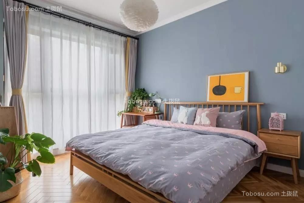 2019北欧卧室装修设计图片 2019北欧落地窗图片