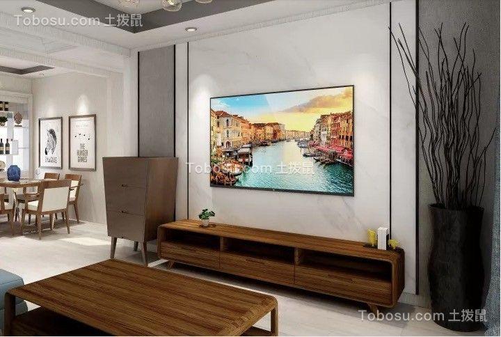 秀水家園108平北歐三室裝修效果圖