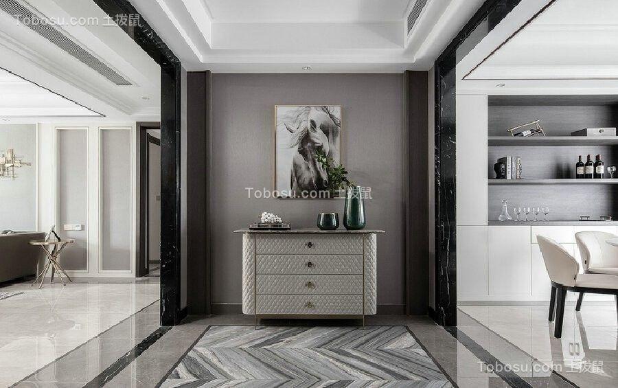精选120平现代轻奢风格黑白灰套房图片