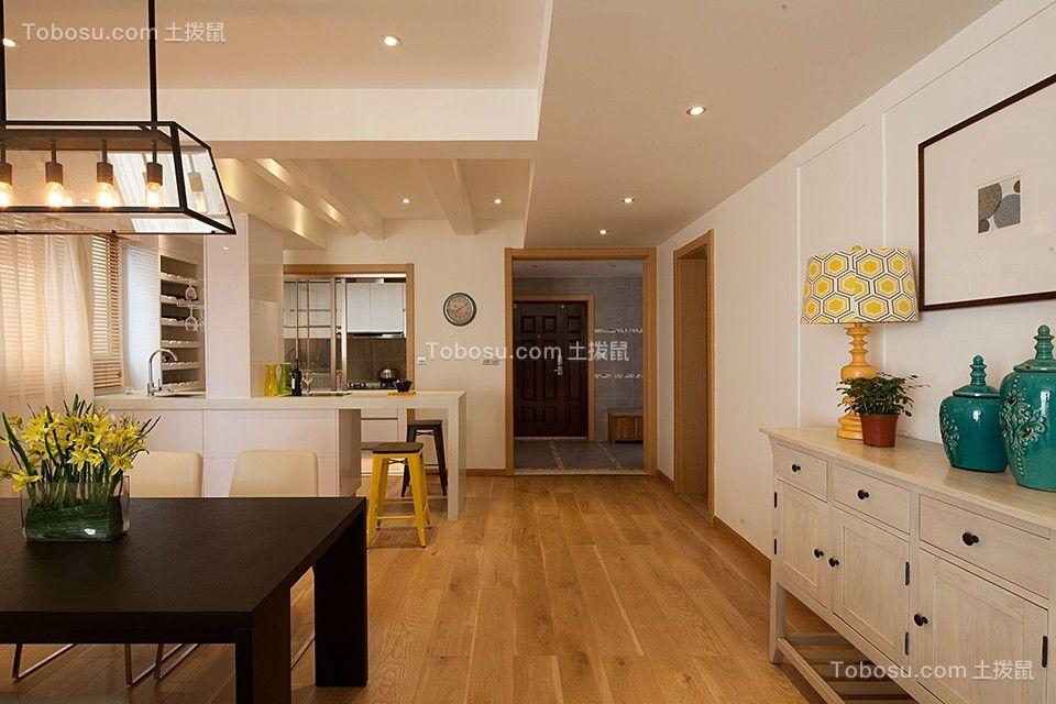 165平米现代简约四室厨房装修效果图