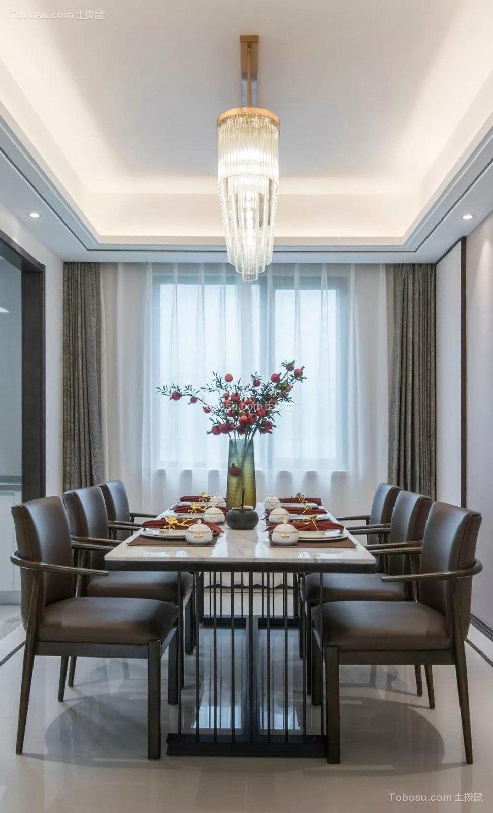 2019中式餐厅效果图 2019中式灯具装修效果图片