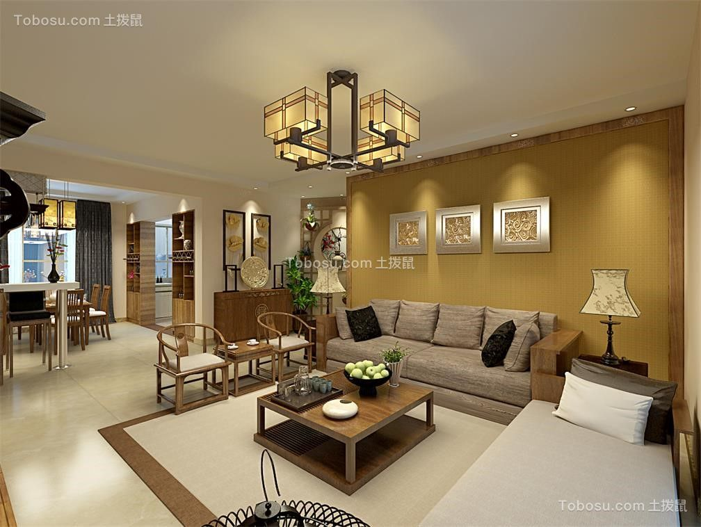 2020中式客厅装修设计 2020中式沙发装修设计