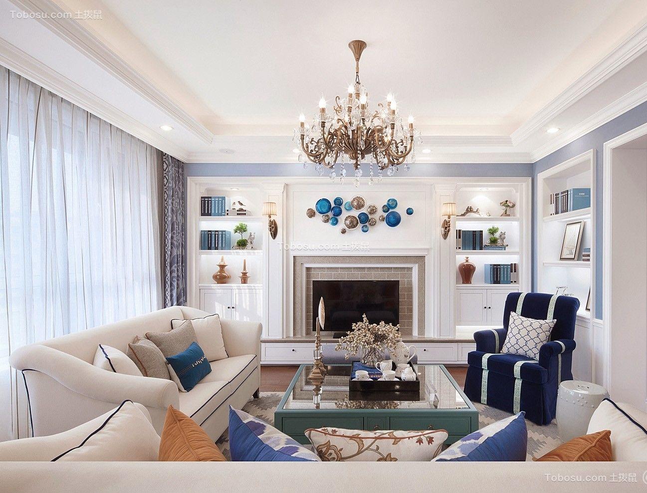 2019美式客厅装修设计 2019美式沙发装修设计