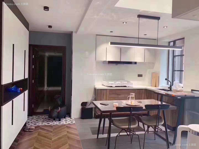 130㎡北欧风格三居室厨房效果图