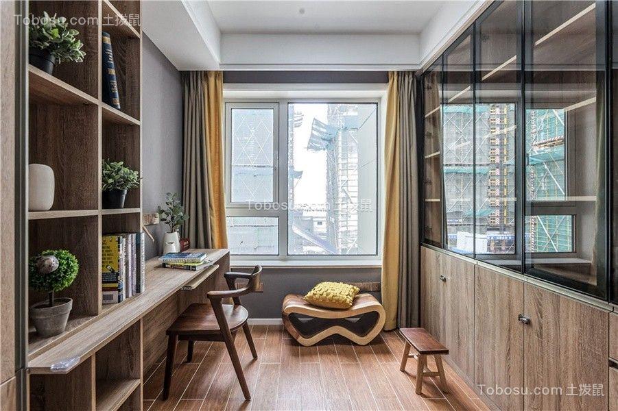 2020混搭书房装修设计 2020混搭窗台设计图片