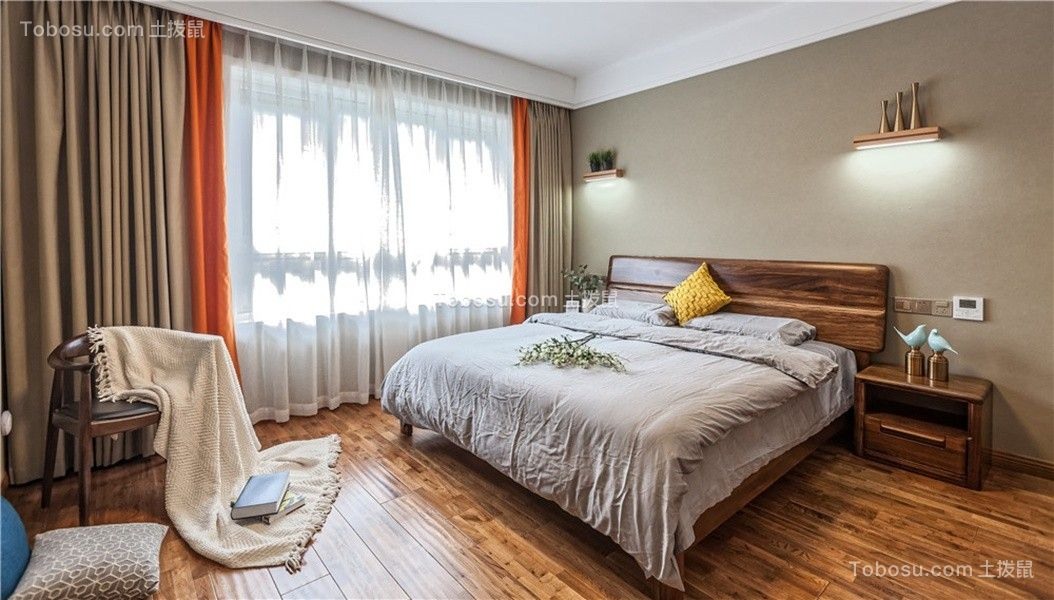2021混搭卧室装修设计图片 2021混搭飘窗图片