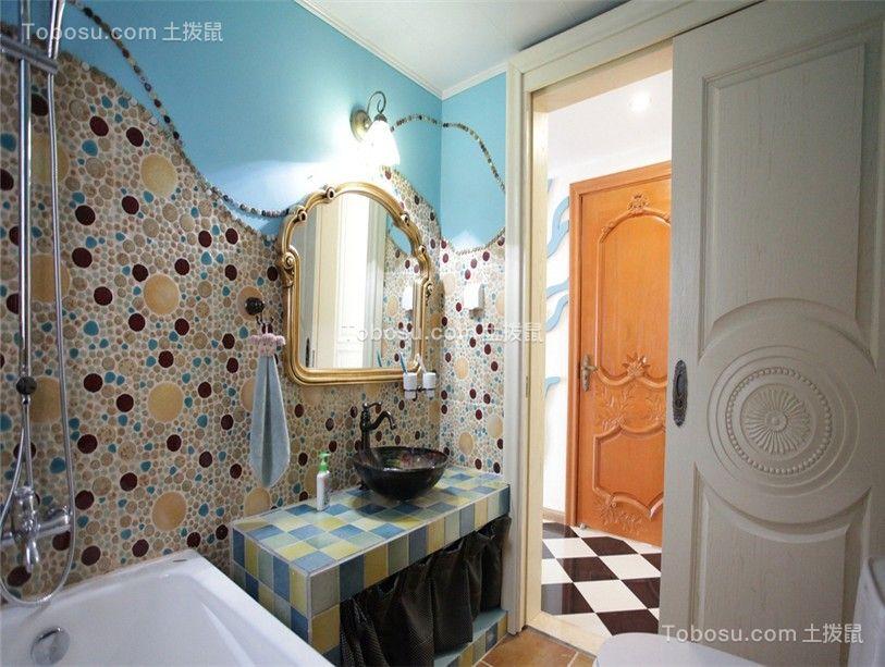2019混搭浴室设计图片 2019混搭洗漱台装修设计
