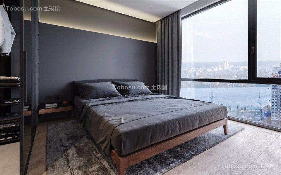 2019简单卧室装修设计图片 2019简单落地窗图片