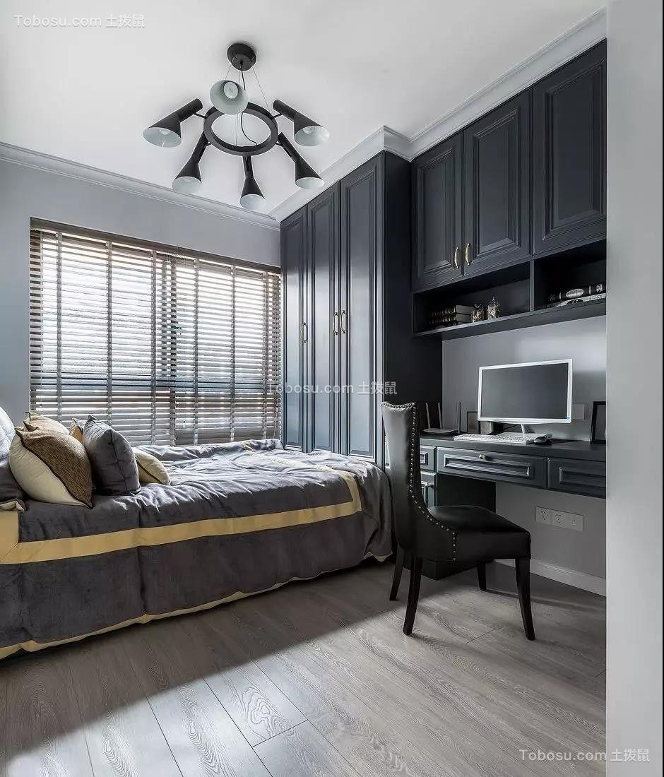 143平米轻奢美式3室2厅,榻榻米和书房简直绝配!