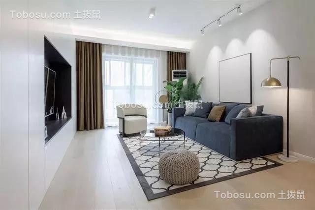 119㎡现代简约风格三居室装修效果图