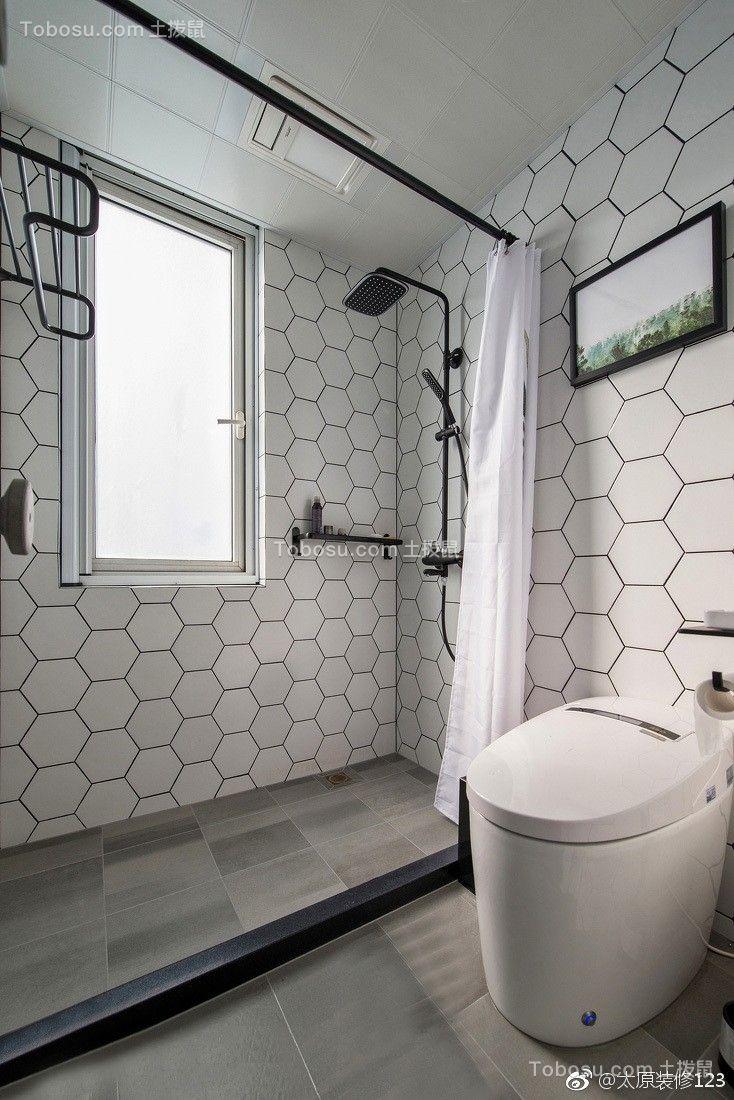 2019北欧卫生间装修图片 2019北欧地板砖设计图片