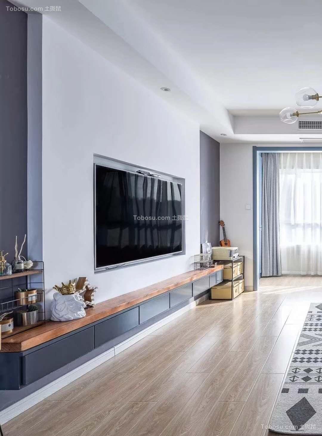 2019北欧客厅装修设计 2019北欧背景墙装修设计