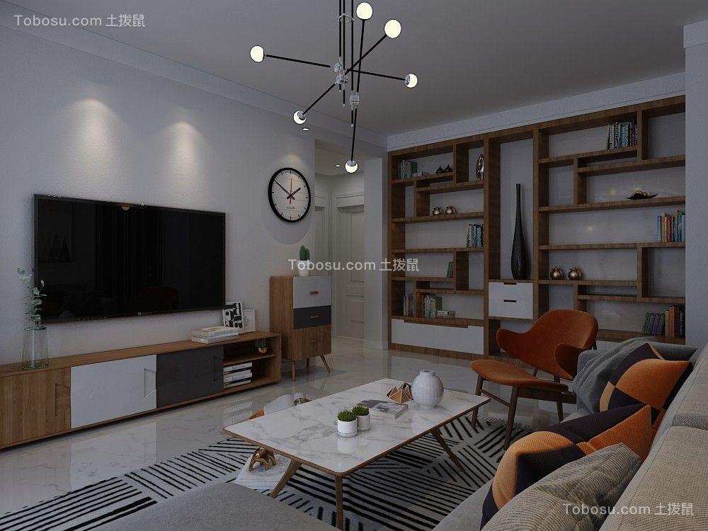 2019北欧客厅装修设计 2019北欧吊顶设计图片