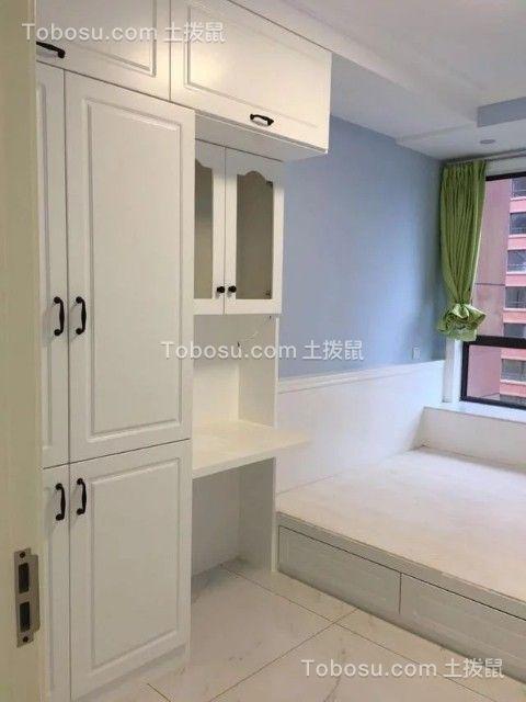 100平时尚简约风格两室两厅效果图