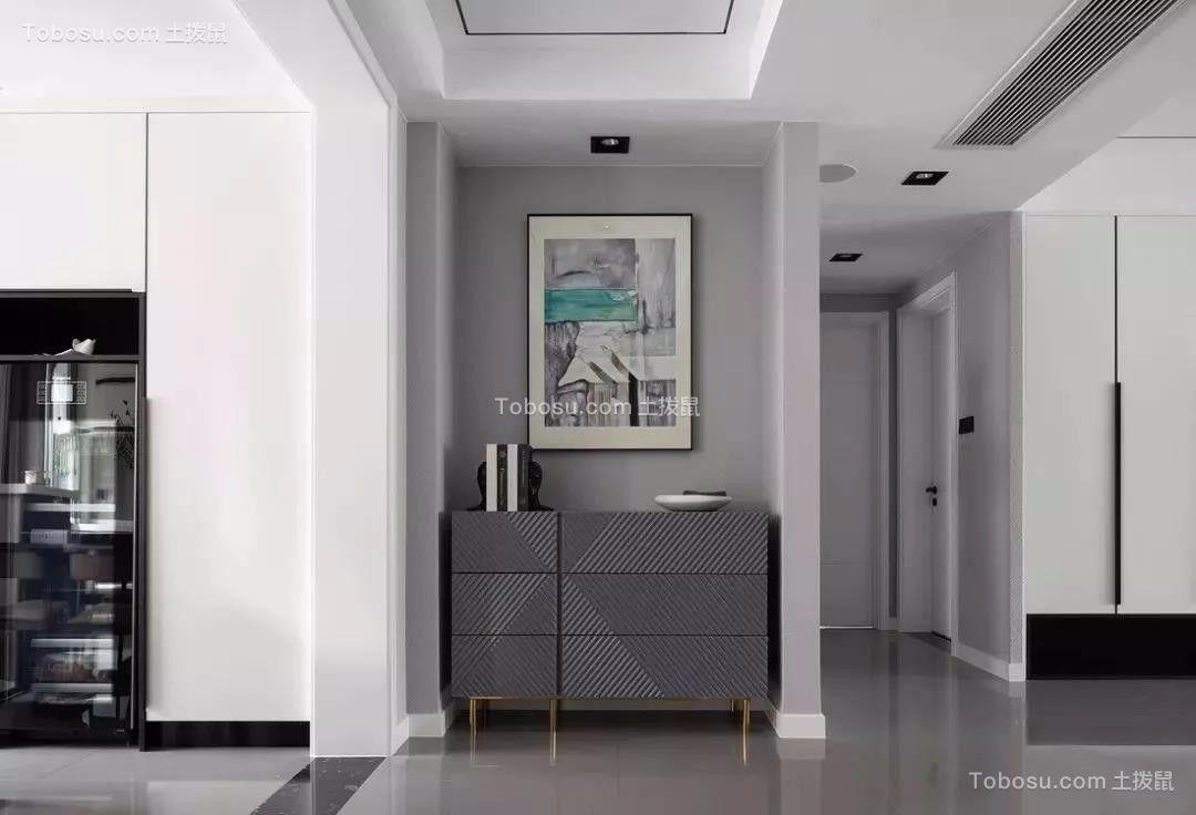 2019现代简约玄关图片 2019现代简约门厅装修效果图大全