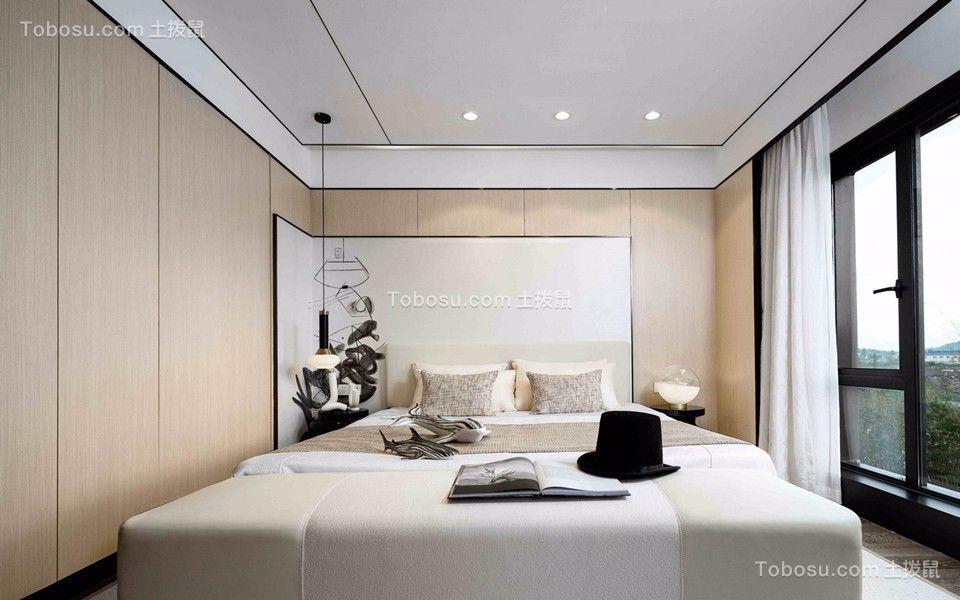 2019新中式卧室装修设计图片 2019新中式落地窗图片