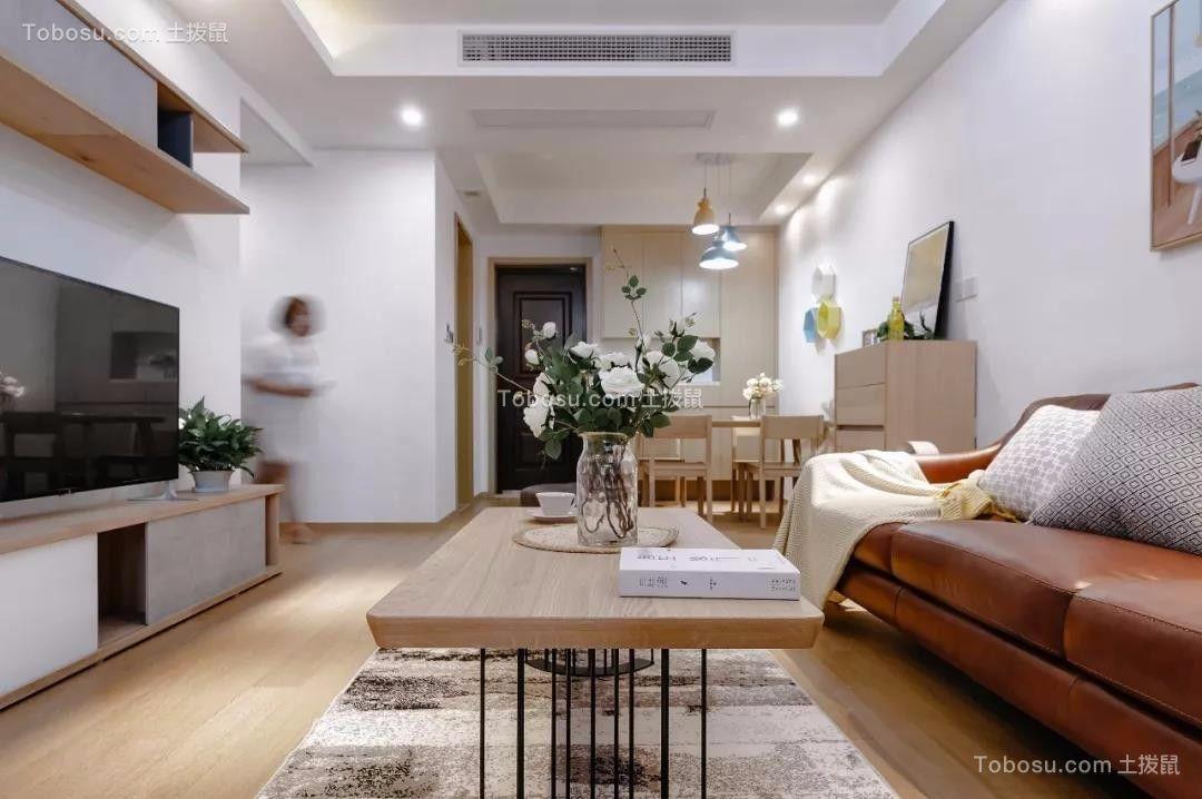 恒大御景湾126平现代简约三居室装饰效果图