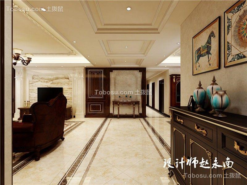 碧桂园名门250㎡欧式古典风格大户型效果图