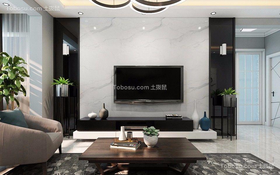 2020后现代客厅装修设计 2020后现代背景墙图片