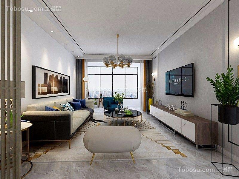 2020简欧客厅装修设计 2020简欧吊顶设计图片