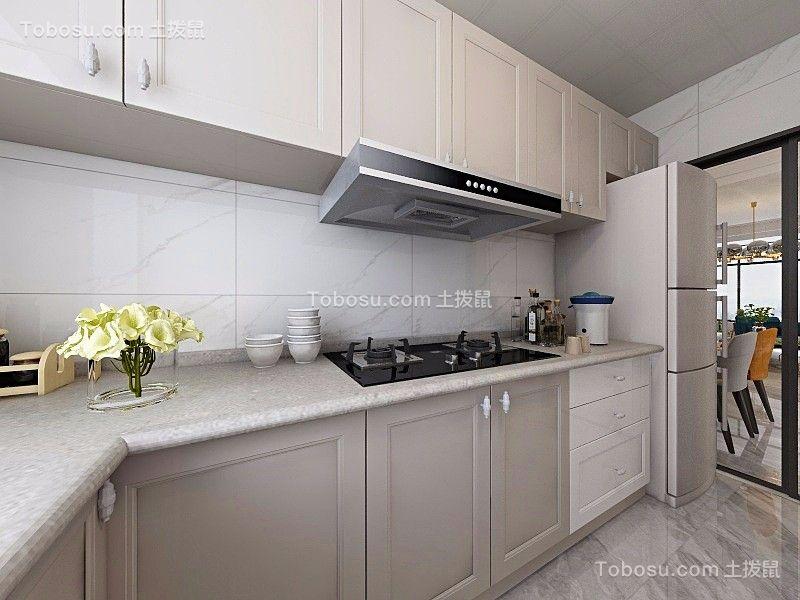 2020简欧厨房装修图 2020简欧橱柜装修效果图片