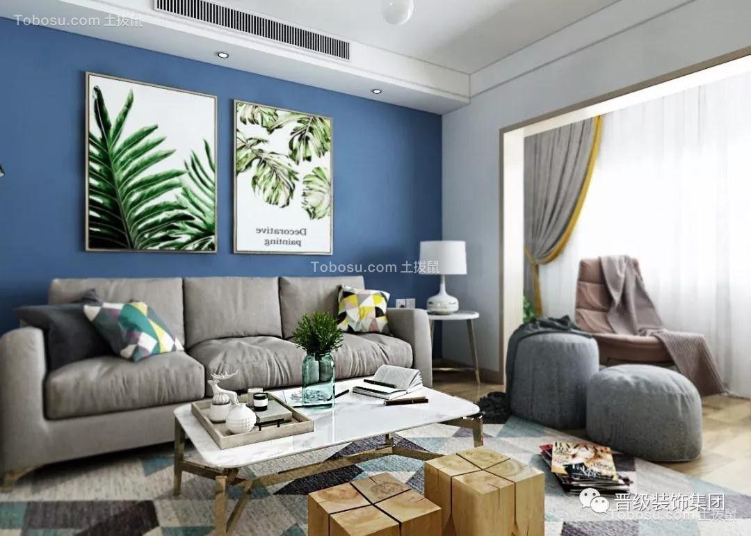 2020北欧客厅装修设计 2020北欧沙发装修设计
