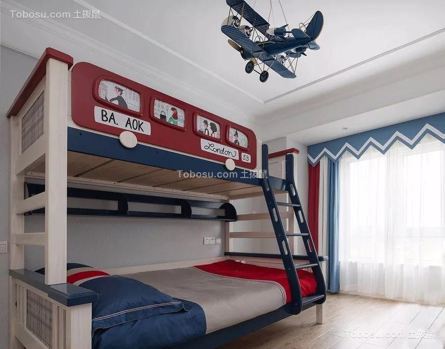 2019美式卧室装修设计图片 2019美式地砖装修图片
