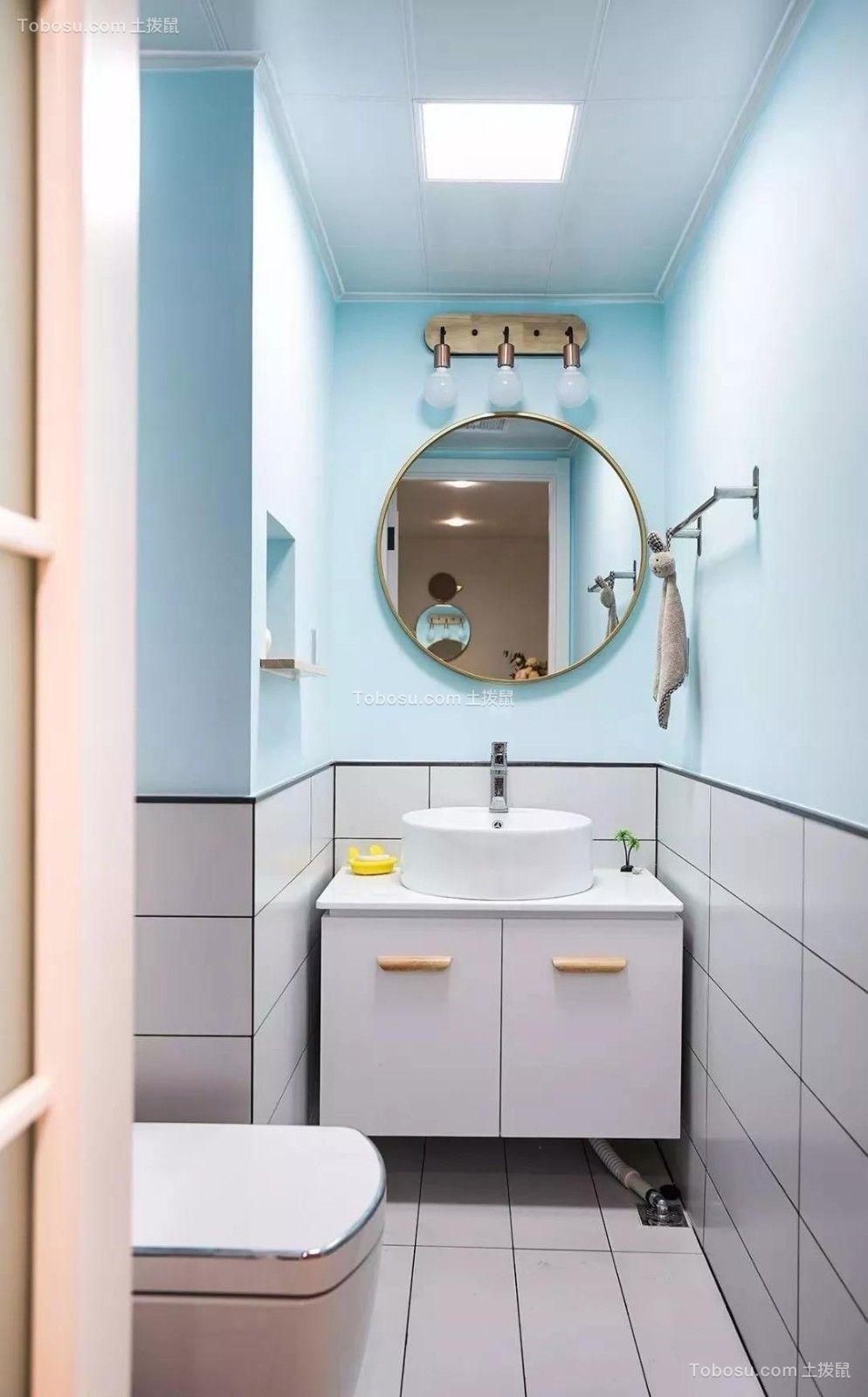 2020北欧卫生间装修图片 2020北欧洗漱台装饰设计