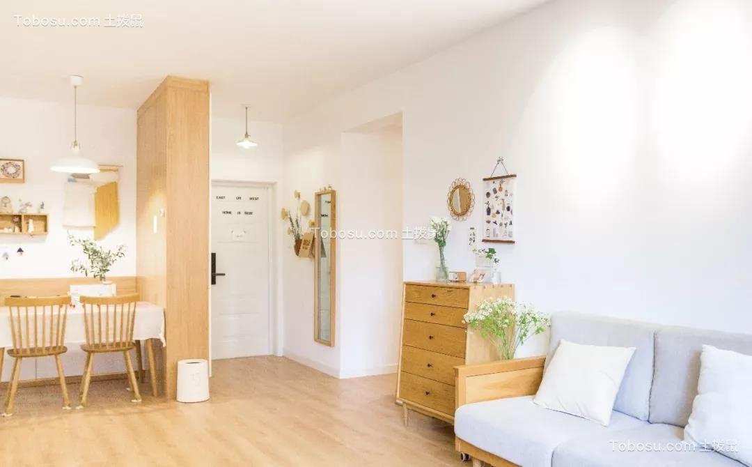150㎡二居室日式风格温润柔和装修图片