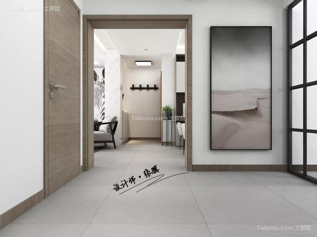 2019现代客厅装修设计 2019现代过道图片