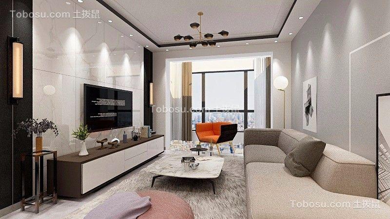 2020现代客厅装修设计 2020现代背景墙图片