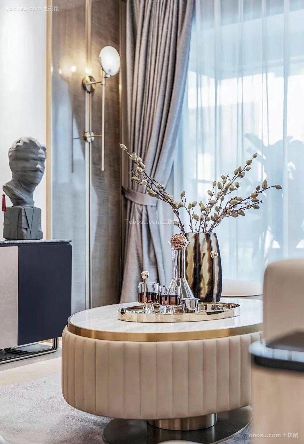 2019后现代客厅装修设计 2019后现代茶几效果图