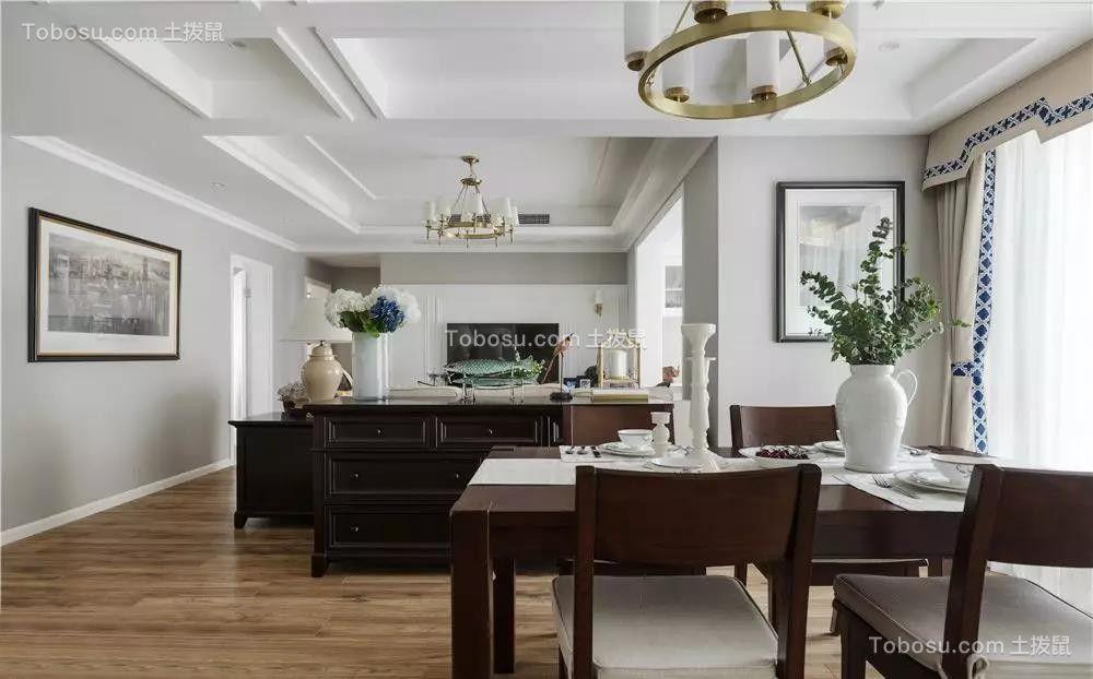 110㎡浪漫美式3室2厅,演绎优雅细腻的极致美学