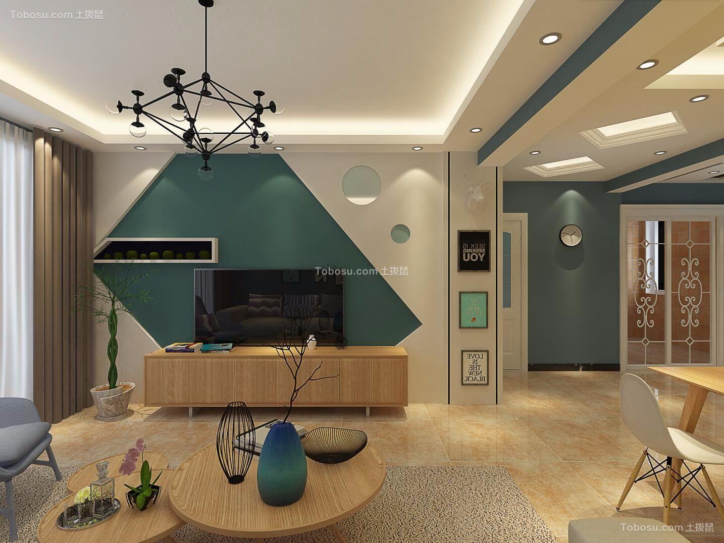 2019现代客厅装修设计 2019现代背景墙装修设计