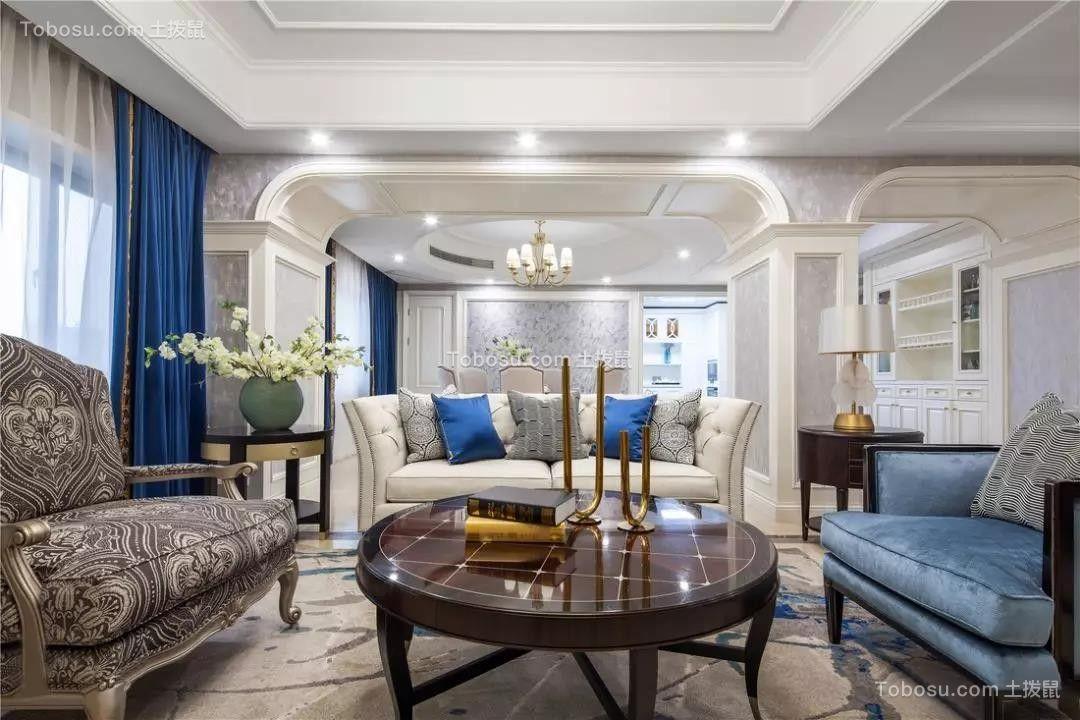 2019古典客厅装修设计 2019古典茶几效果图