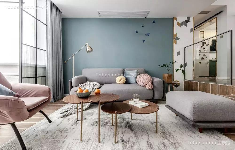 140㎡清新北欧3室2厅,简约而舒适的生活格调