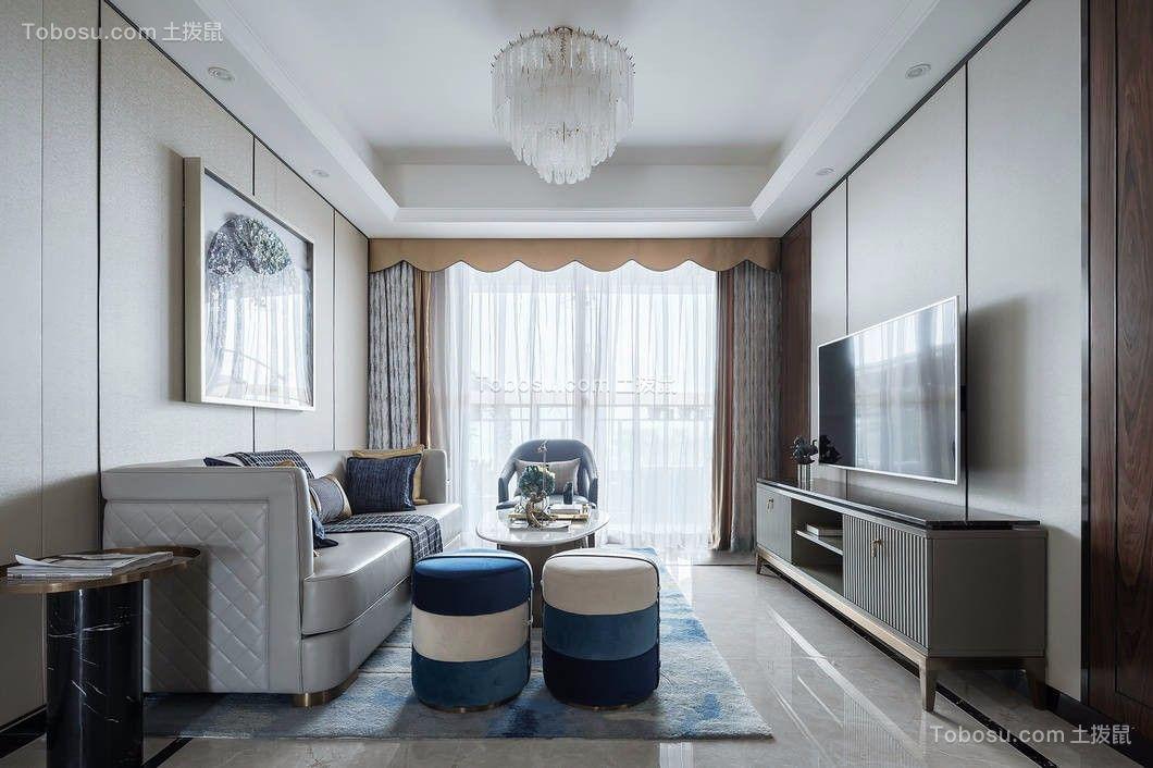 轻奢湖蓝3室2厅洋房