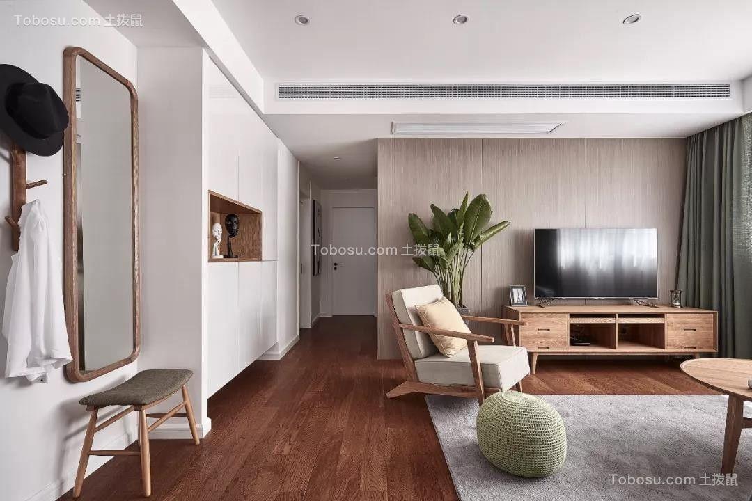 106㎡日式MUJI风3室2厅,享受慵懒而惬意的小日子