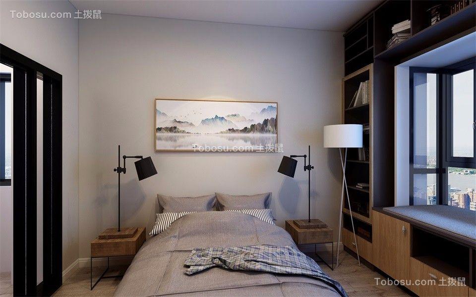 2019现代简约卧室装修设计图片 2019现代简约飘窗图片