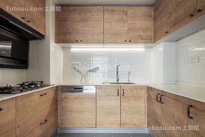 2019简约厨房装修图 2019简约厨房岛台效果图