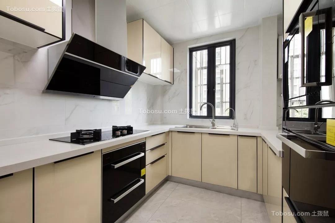 2019新中式厨房装修图 2019新中式厨房岛台装饰设计