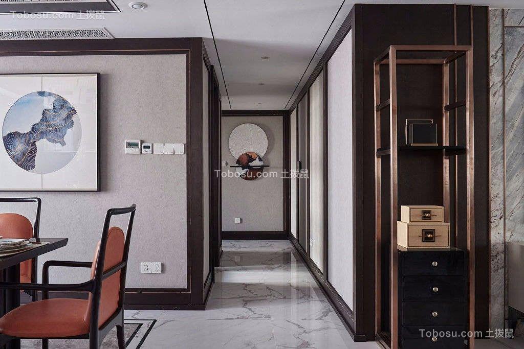 2019混搭客厅装修设计 2019混搭走廊装修效果图大全
