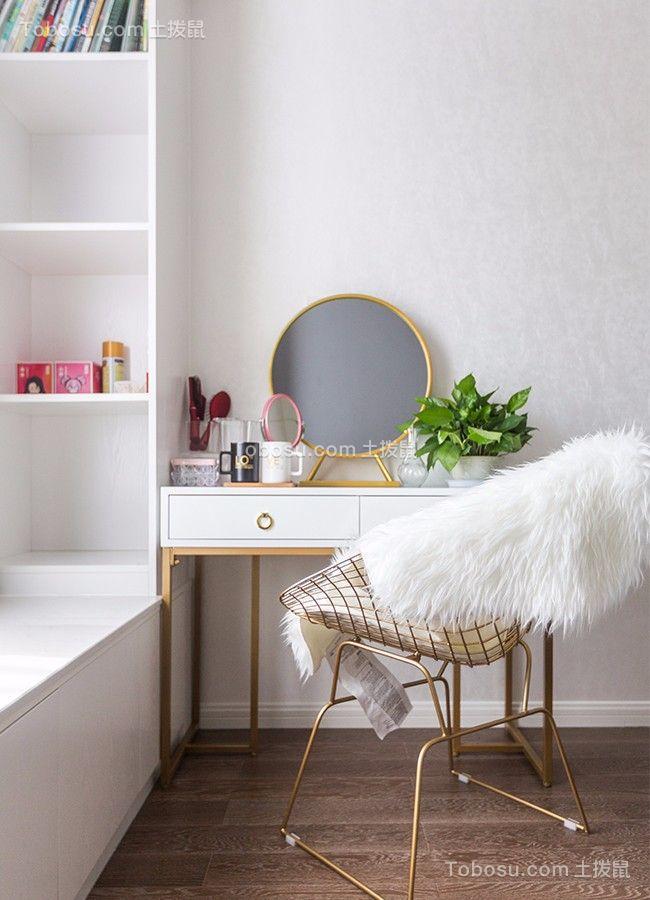 2020北欧卧室装修设计图片 2020北欧梳妆台装修设计