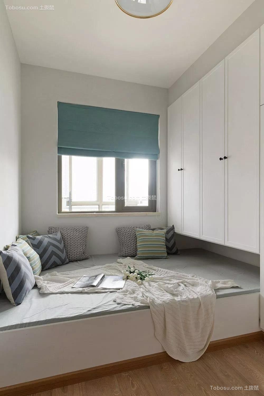78平旧房改造北欧装饰效果图