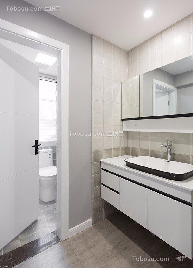 2019现代浴室设计图片 2019现代洗漱台装修设计