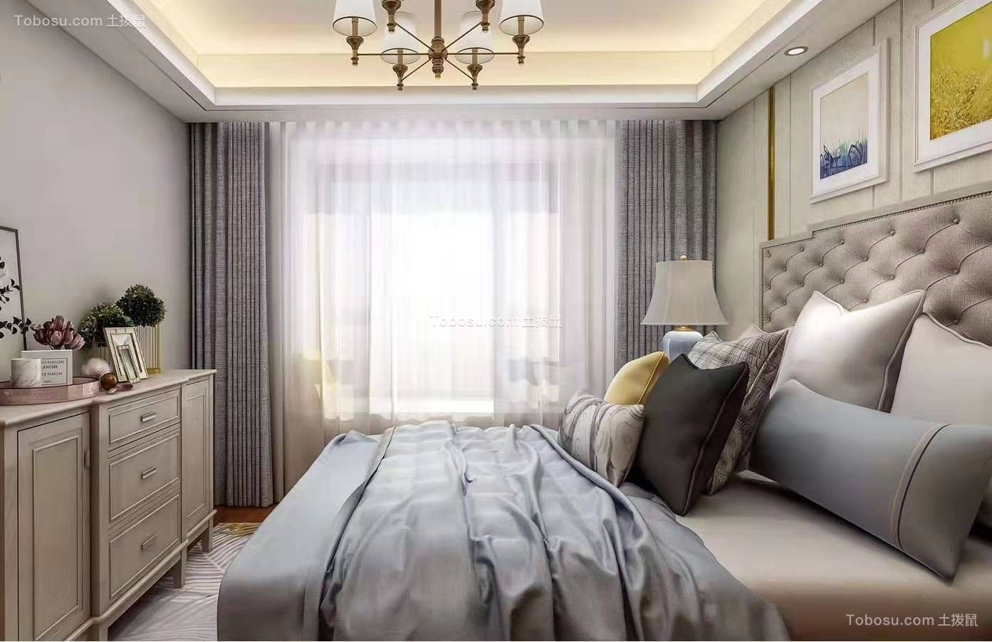 2019北欧卧室装修设计图片 2019北欧落地窗效果图