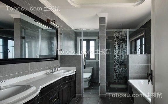 维享家装饰富洲新城95美式经典风格